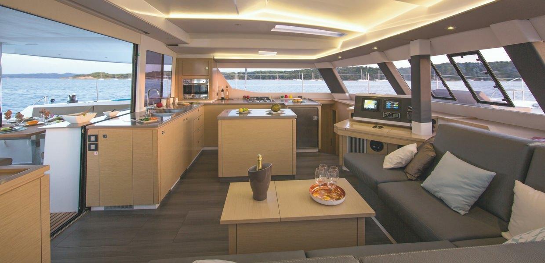 saba 50 luxury sailing charter cat catamaran seychelles boat yacht summer holidays modern