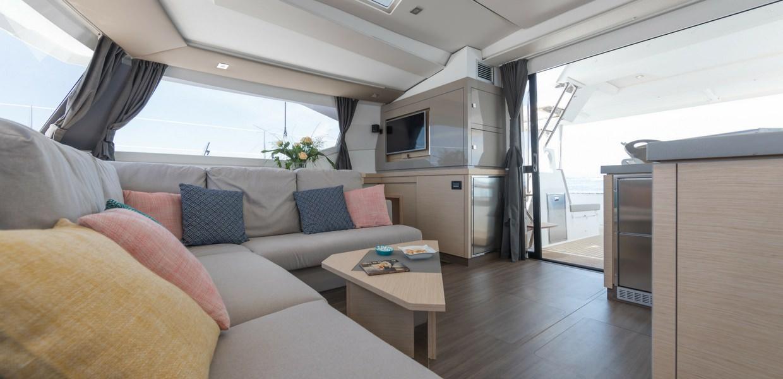 saona 47 luxury sailing charter cat catamaran seychelles boat yacht summer holidays modern