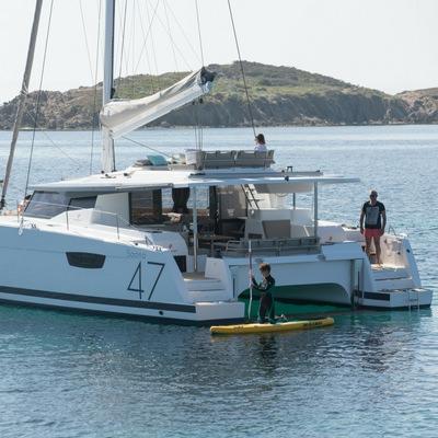 coco charter luxury sailing catamaran seychelles