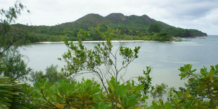 summit peak mountain seychelles hike hiking charter catamaran luxury sailing